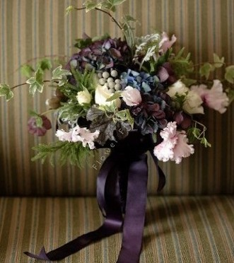 Bouquet Bridesmaid Woodland