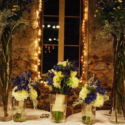 Natural Bouquets Rustic Setting