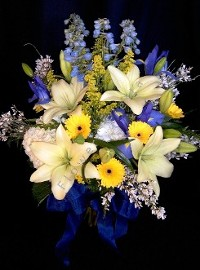 Spring Mix Lillies in Full Bloom Bouquet