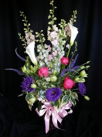 Large Deluxe Bouquet for Mom with Peonies