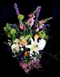 Spring Mix with Viburnum Snowball Bouquet