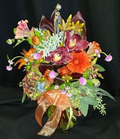Small fall premium mixed bouquet