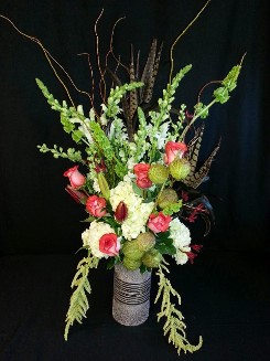 Exotic Autumn rose display