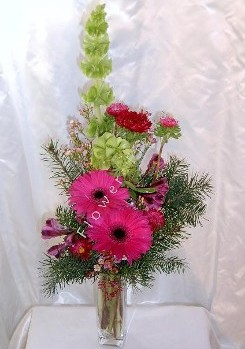 Holiday cheer bud vases