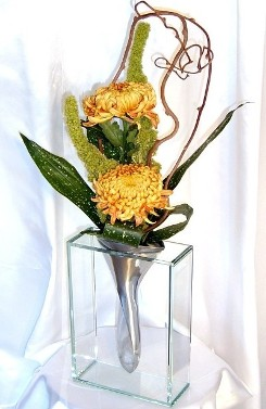 Flowers for Businesses, Small Contemporary Bud Vase